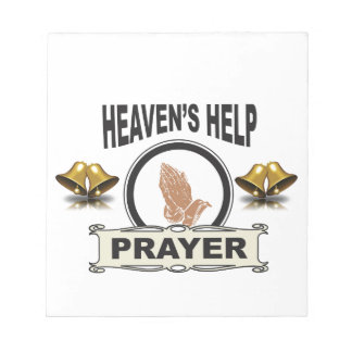 hands of help and prayer notepad
