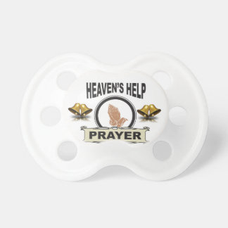 hands of help and prayer pacifier