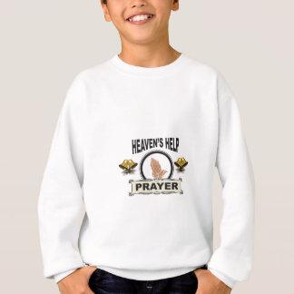 hands of help and prayer sweatshirt