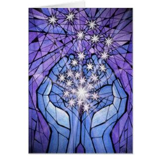 Hands of Light Card