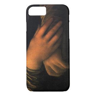 Hands of Mona Lisa iPhone 7 case