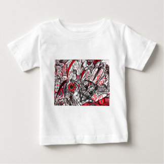Hands of Rage Pen Drawing Baby T-Shirt