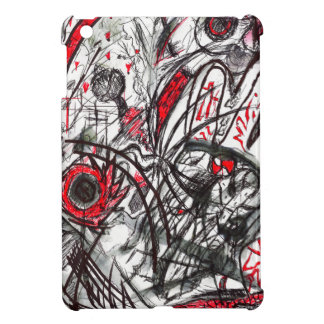 Hands of Rage Pen Drawing iPad Mini Case