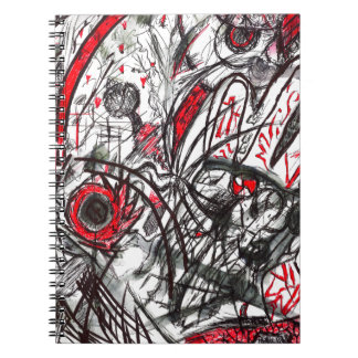 Hands of Rage Pen Drawing Note Book