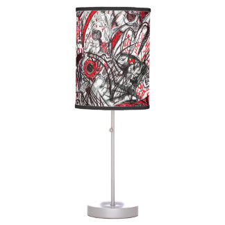 Hands of Rage Serpent Eye Table Lamp