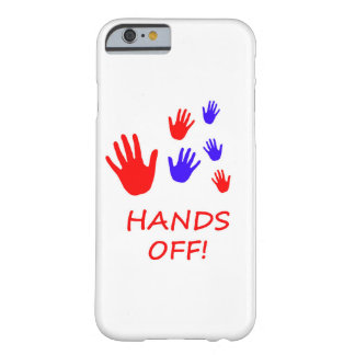 hands off barely there iPhone 6 case
