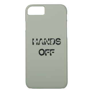 HANDS OFF iPhone 7 CASE