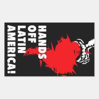 Hands Off Latin America! Sticker