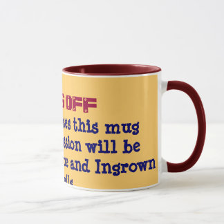 HANDS OFF Mug 1