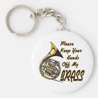 Hands off My Brass Keychain