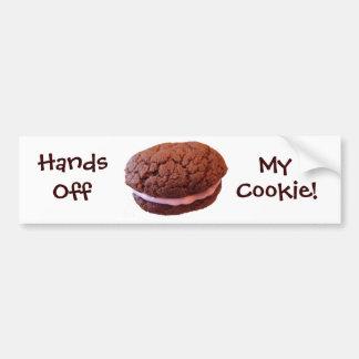 Hands Off My Cookie Bumper Sticker