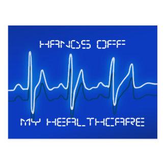 Hands Off My Healthcare Postcard