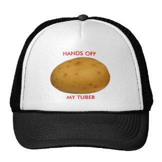Hands Off My Tuber Trucker Hat