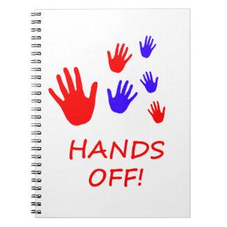 hands off notebooks