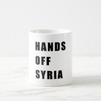 Hands off Syria Coffee Mug