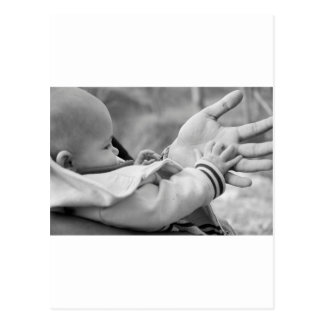 Hands Postcard