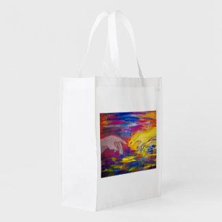 Hands Reusable Grocery Bag