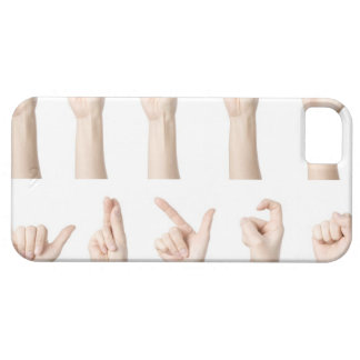 Hands showing Chinese way of counting iPhone 5 Cover