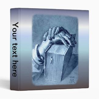 Hands Study with Bible - Durer Binder