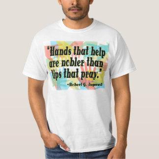 """""""Hands that help..."""" T-Shirt"""