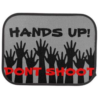 Hands Up! Don't Shoot Car Mats (Rear) (set of 2) Car Carpet