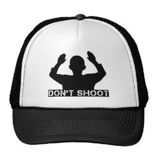 Hands Up - DON'T SHOOT Trucker Hat