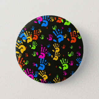 Hands Wallpaper 2 Inch Round Button