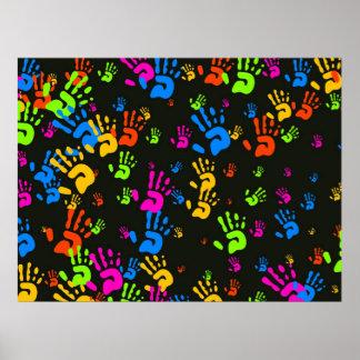 Hands Wallpaper Poster