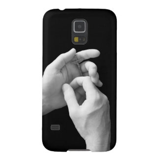 Hands with a Crucifix Cases For Galaxy S5