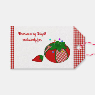 Handsewn by You and Your Pincushion Gift Tags