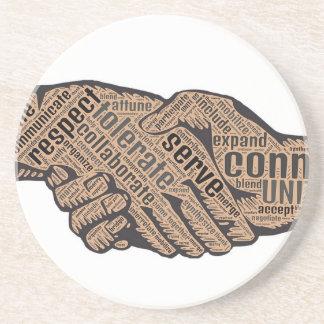 Handshake Coaster