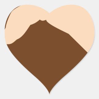 Handshake Heart Sticker