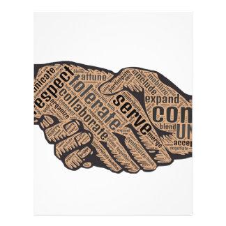 Handshake Letterhead