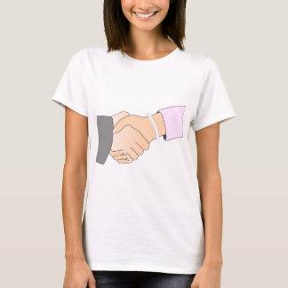 Handshake Man and Woman T-Shirt