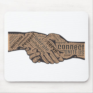Handshake Mouse Pad