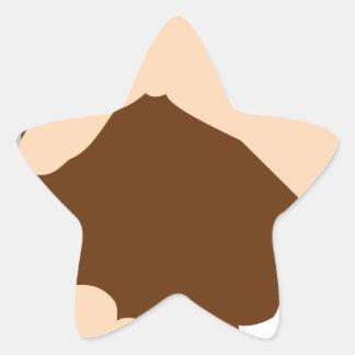 Handshake Star Sticker