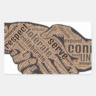 Handshake Sticker