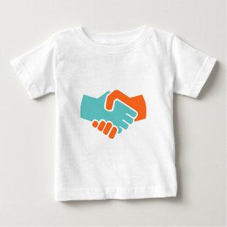 Handshake together baby T-Shirt