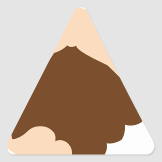 Handshake Triangle Sticker