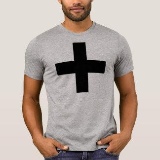HANDSKULL Bourne Cross - American Apparel Fine T-Shirt