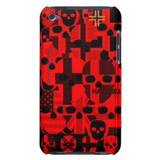 HANDSKULL Cerebro Red - Ipod Touch Case Barely