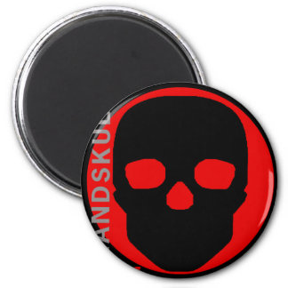 HANDSKULL Liv - Round Magnets