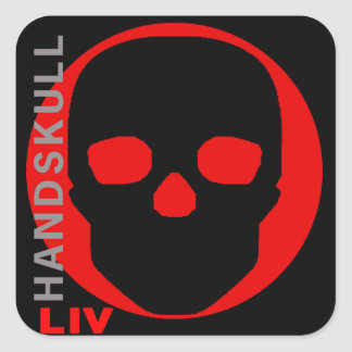 HANDSKULL Liv - sticker