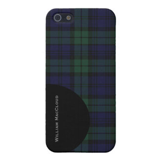 Handsome Black Watch Tartan Plaid iPhone 5 Savvy iPhone 5/5S Covers