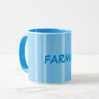 Handsome Blue Farmer Mug