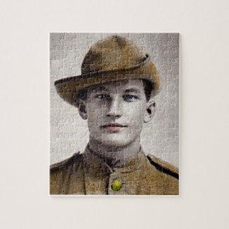 handsome Boer War soldier Jigsaw Puzzle