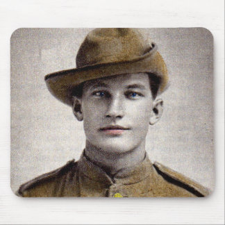 handsome Boer War soldier Mouse Pad