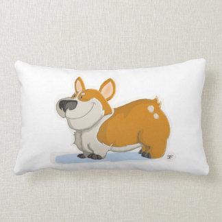 Handsome Corgi Lumbar Pillow