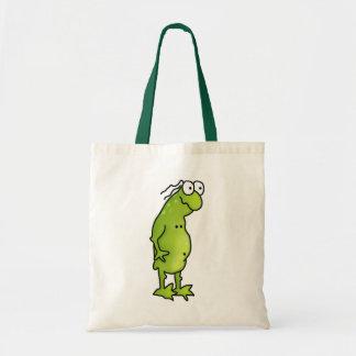 Handsome Frog Tote Bag