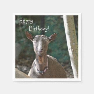Handsome Goat Paper Napkin